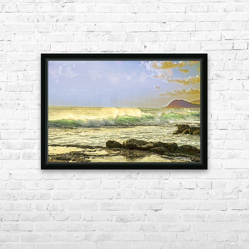 Spring Surge After the Storm HD Sublimation Metal print with Decorating Float Frame (BOX)