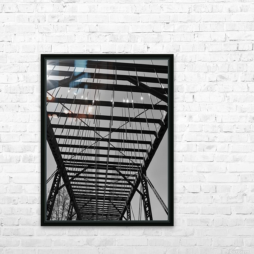 TUNING HD Sublimation Metal print with Decorating Float Frame (BOX)