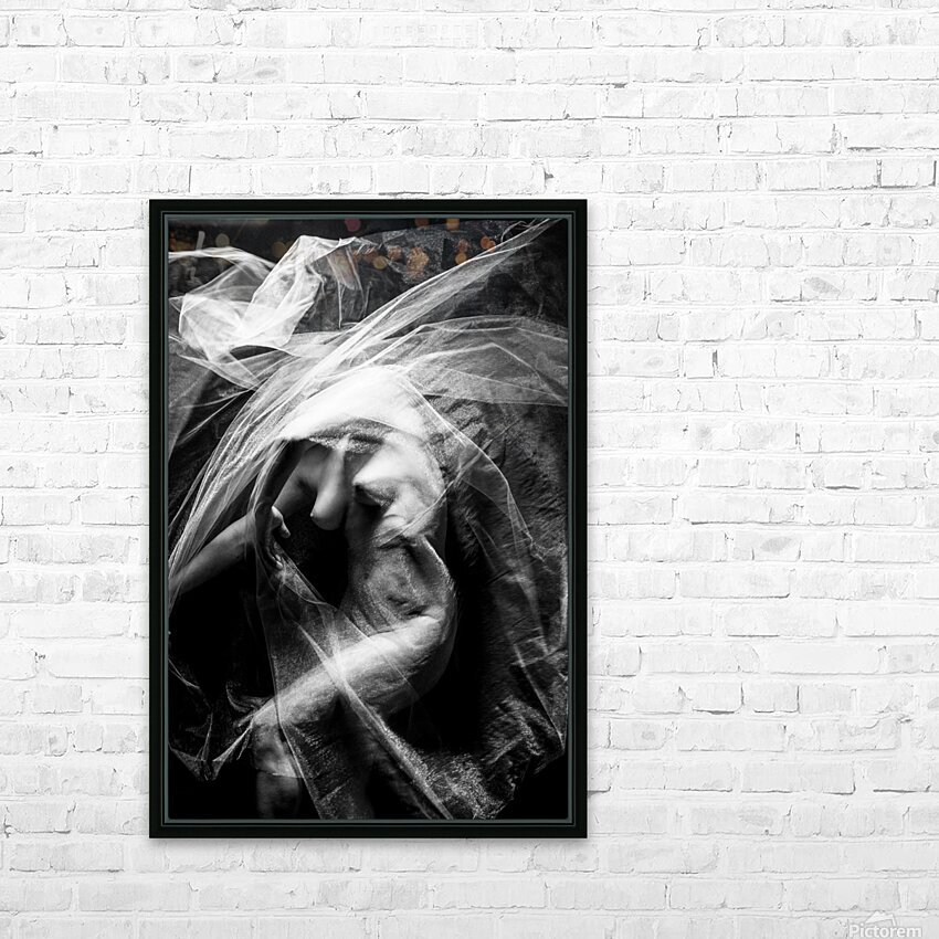 FLUX OF LOVE HD Sublimation Metal print with Decorating Float Frame (BOX)