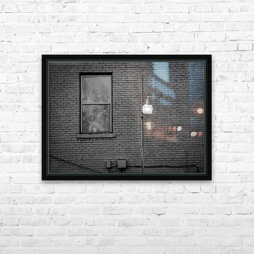 SUNDAY IN LONDON HD Sublimation Metal print with Decorating Float Frame (BOX)