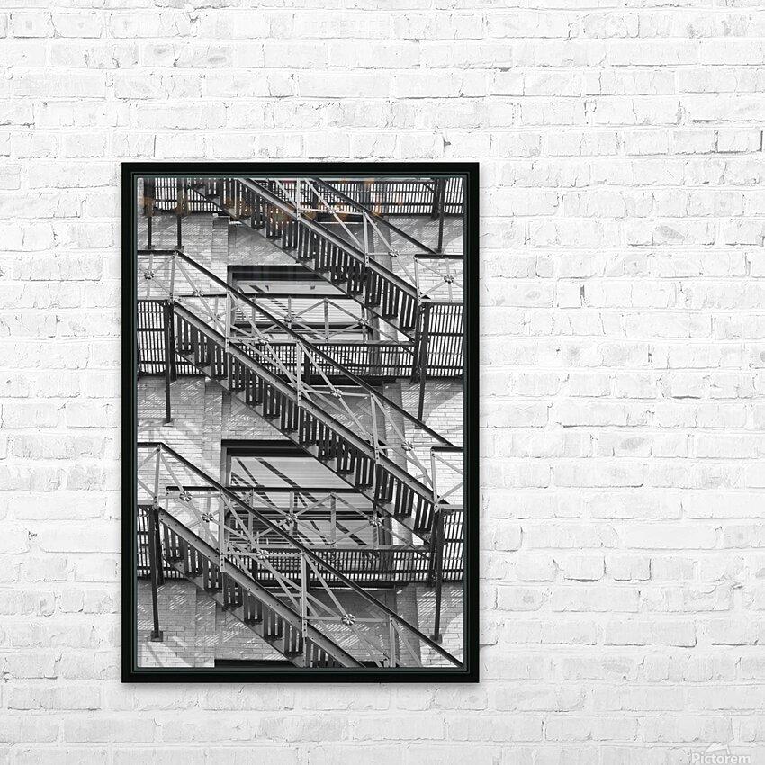 ASCEND DESCEND HD Sublimation Metal print with Decorating Float Frame (BOX)