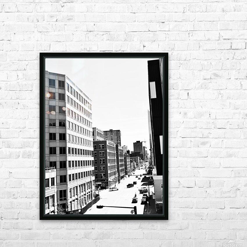 DENVER 2K18 HD Sublimation Metal print with Decorating Float Frame (BOX)