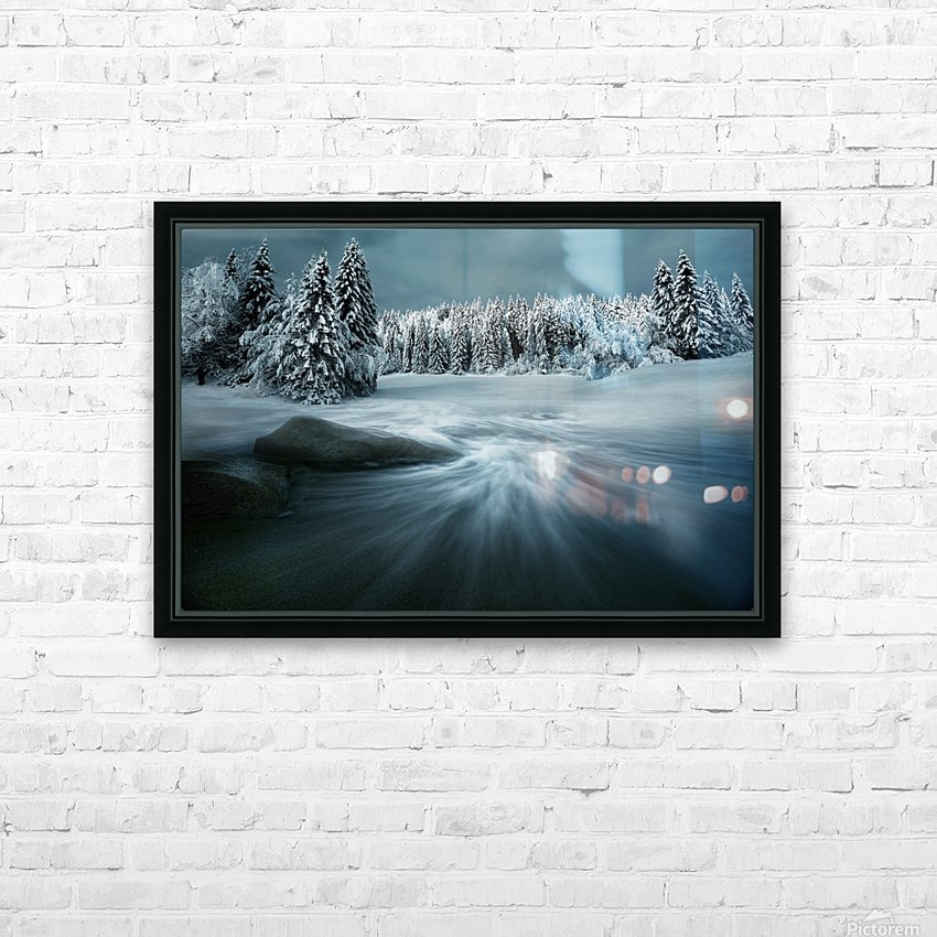 Just a Dream HD Sublimation Metal print with Decorating Float Frame (BOX)