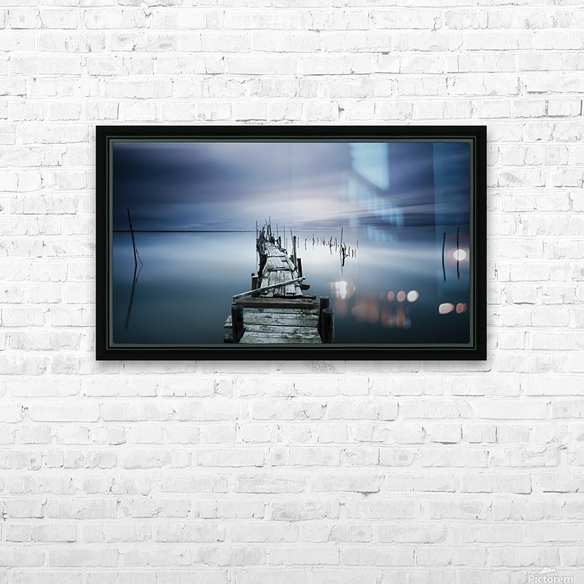 TIMELESS HD Sublimation Metal print with Decorating Float Frame (BOX)