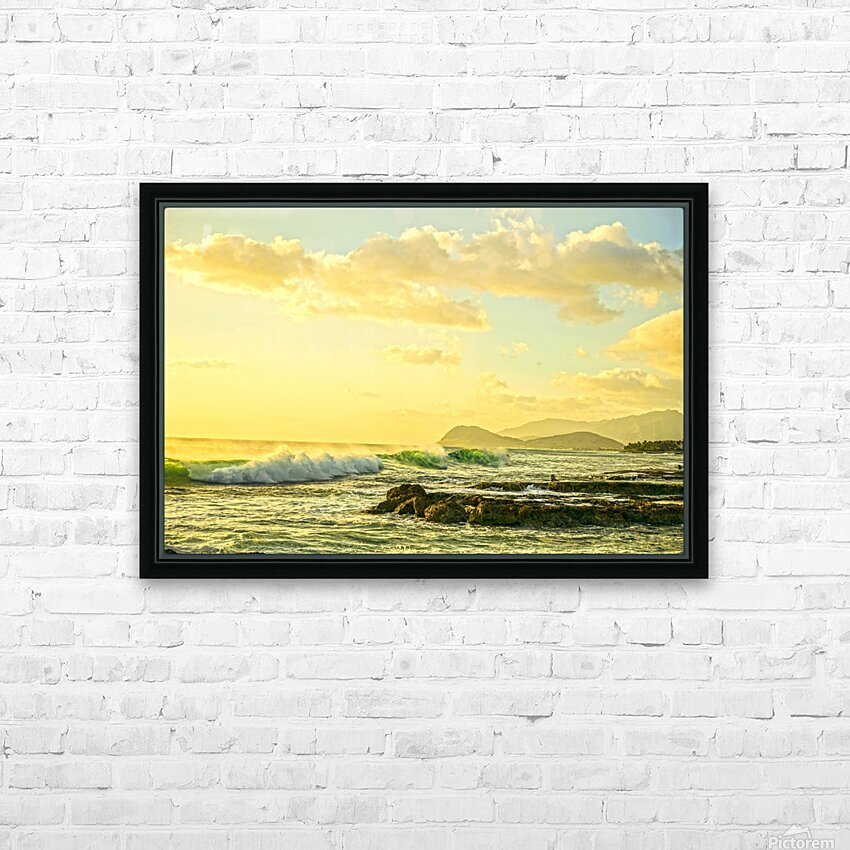 Perfect Day HD Sublimation Metal print with Decorating Float Frame (BOX)