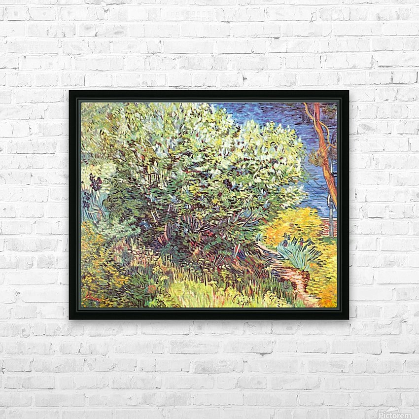 Slip Away by Van Gogh HD Sublimation Metal print with Decorating Float Frame (BOX)