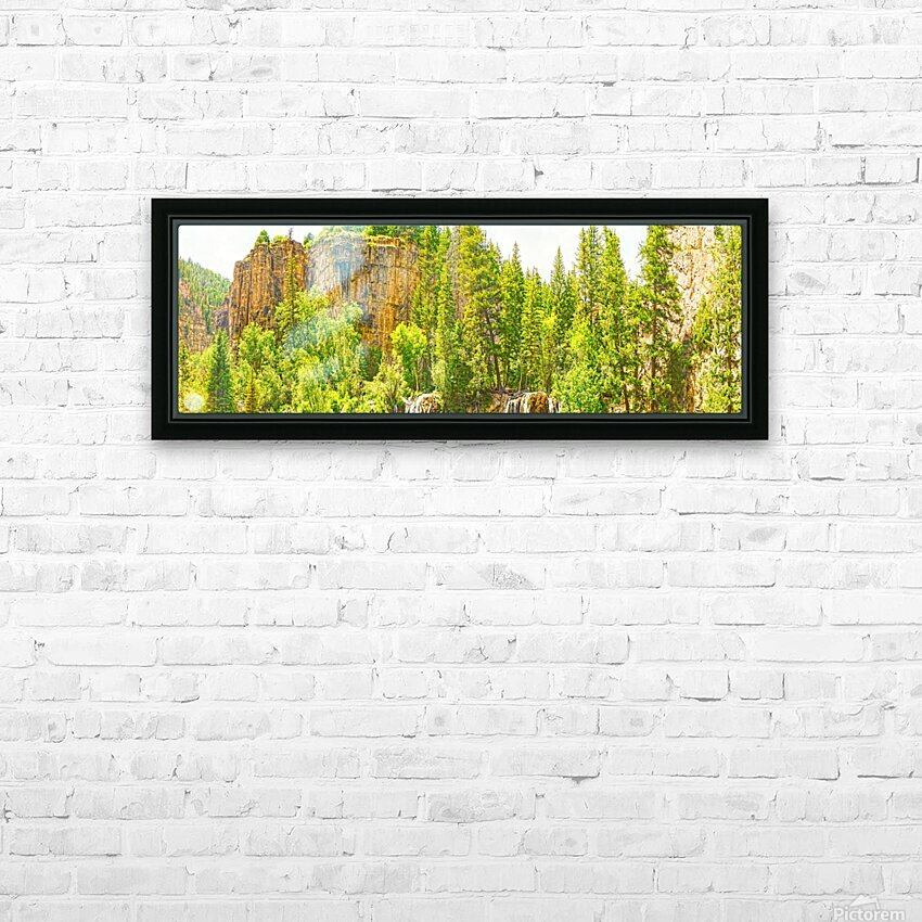 In Gods Country HD Sublimation Metal print with Decorating Float Frame (BOX)