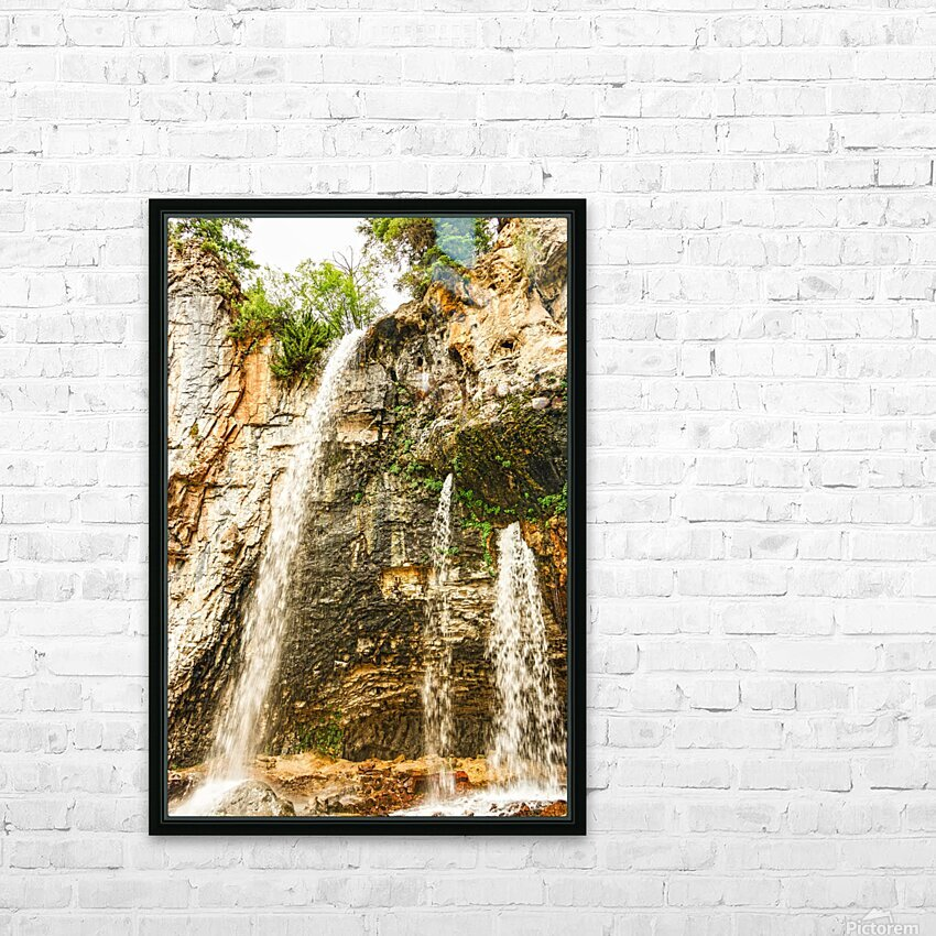 Rocky Mountain Rapids and Waterfalls 8 of 8 HD Sublimation Metal print with Decorating Float Frame (BOX)