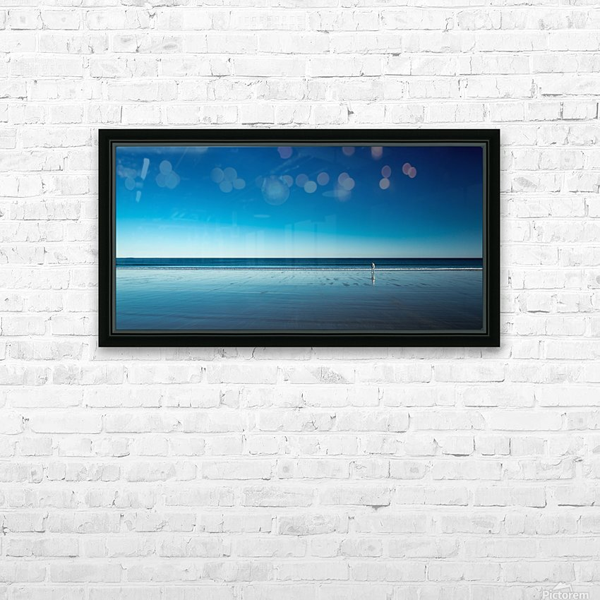 The Blues HD Sublimation Metal print with Decorating Float Frame (BOX)