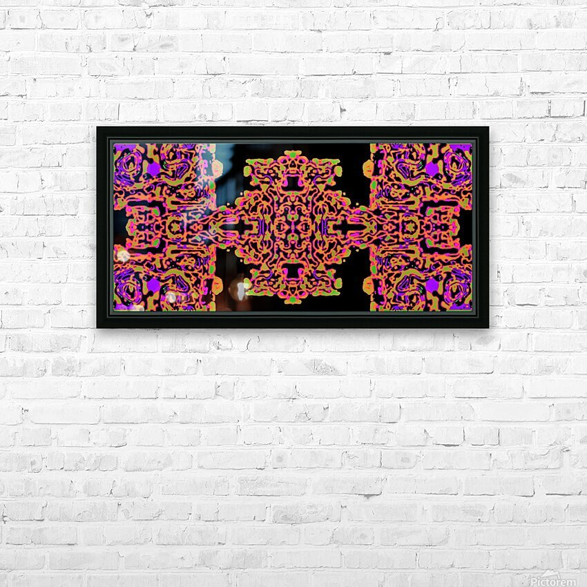 Martial Influx HD Sublimation Metal print with Decorating Float Frame (BOX)
