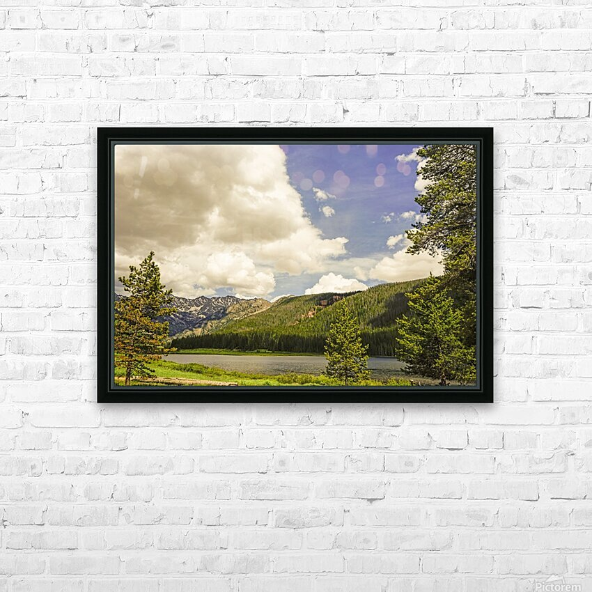 Back Country Colorado 6 of 8 HD Sublimation Metal print with Decorating Float Frame (BOX)