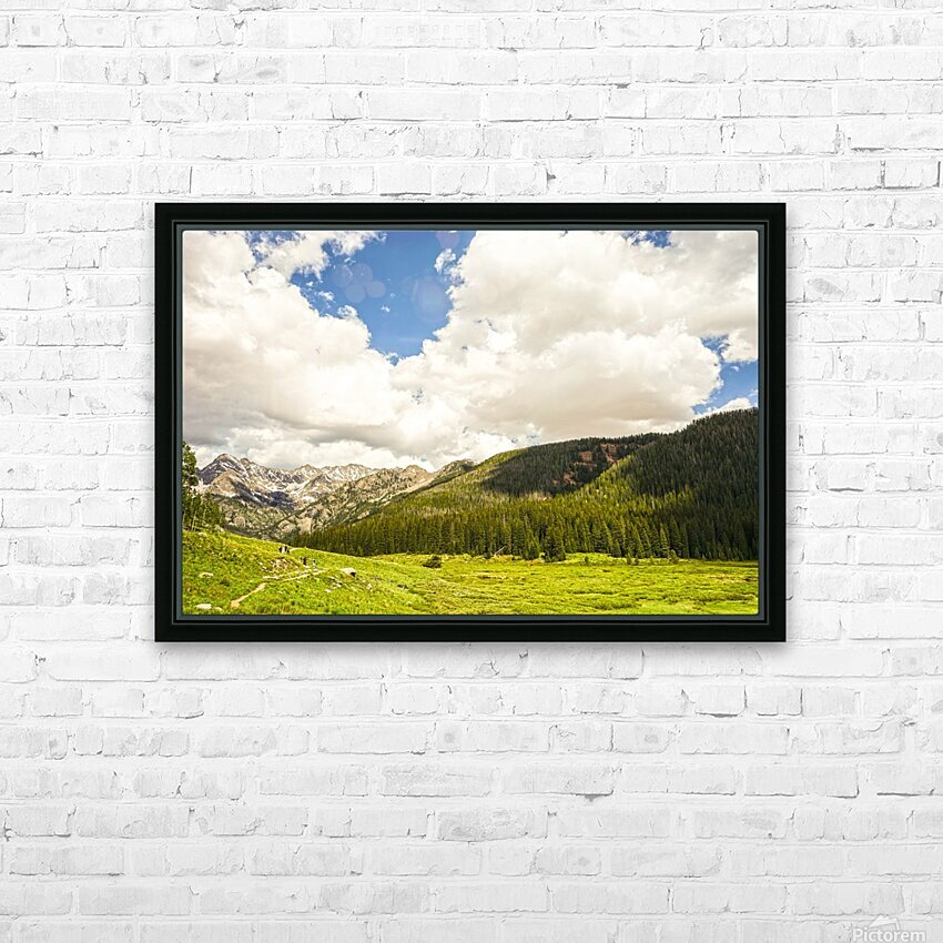 Back Country Colorado 3 of 8 HD Sublimation Metal print with Decorating Float Frame (BOX)