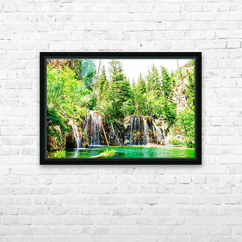 Waterfall Country Colorado 3 of 4 HD Sublimation Metal print with Decorating Float Frame (BOX)