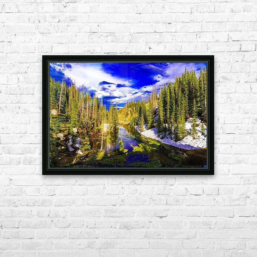 DSC00906 HD Sublimation Metal print with Decorating Float Frame (BOX)