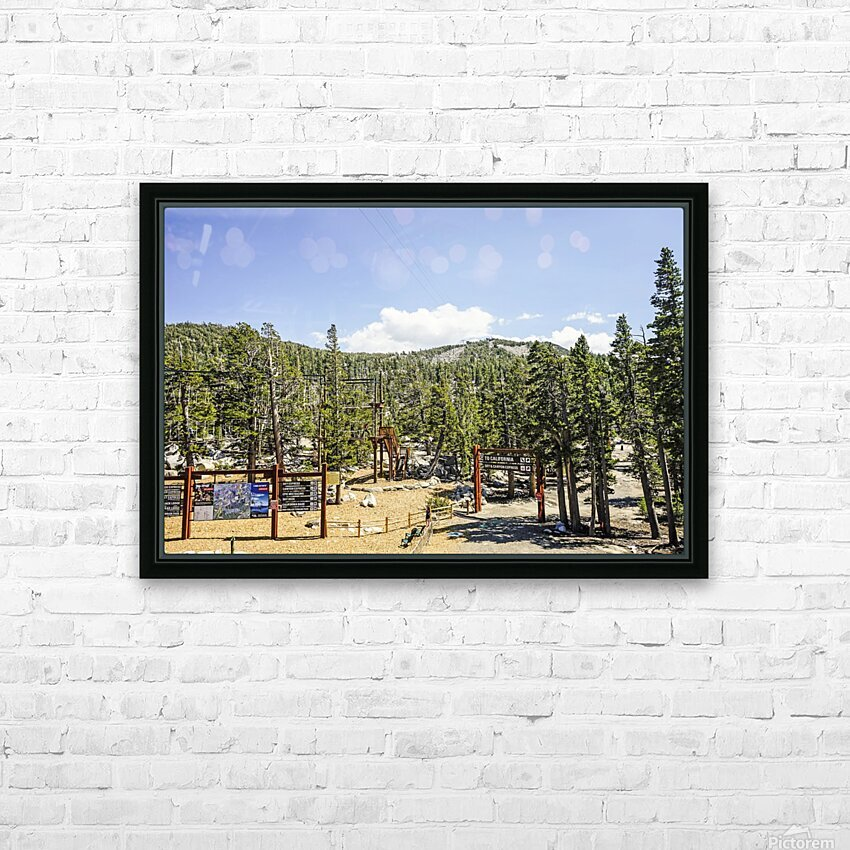 Spring at Lake Tahoe 4 of 7 HD Sublimation Metal print with Decorating Float Frame (BOX)
