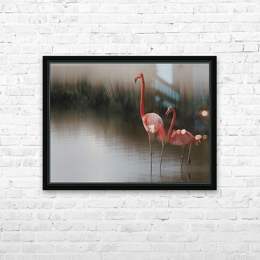 ... HD Sublimation Metal print with Decorating Float Frame (BOX)