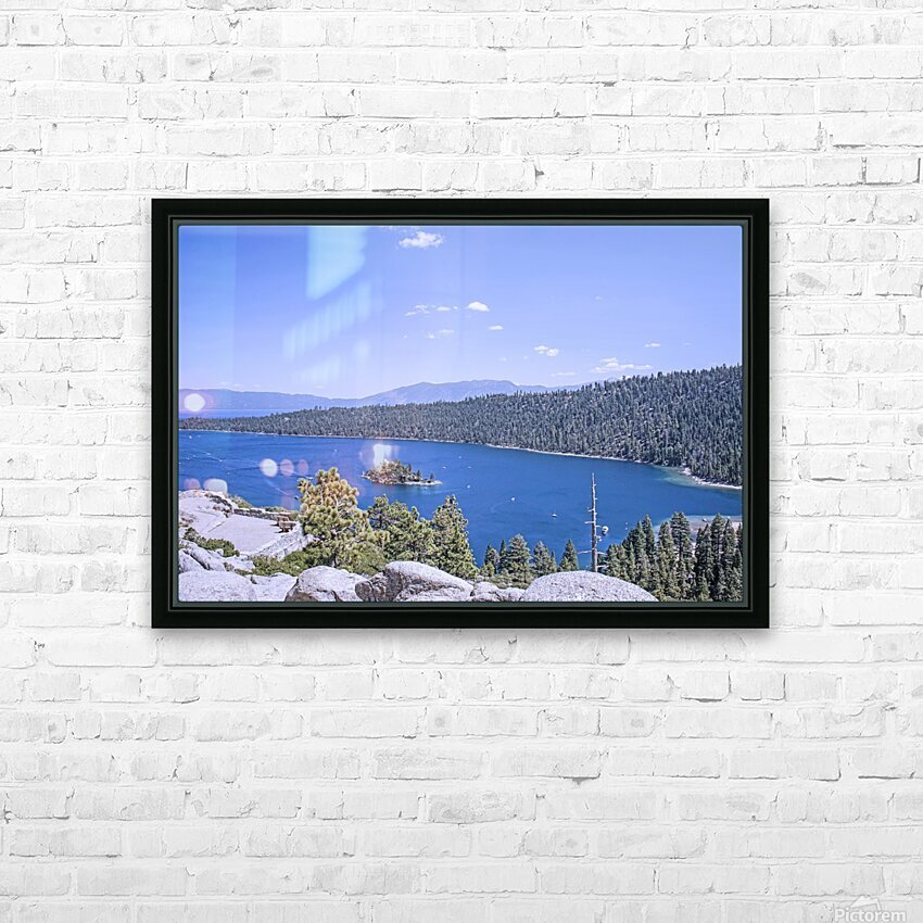 Out West 3 of 8 HD Sublimation Metal print with Decorating Float Frame (BOX)