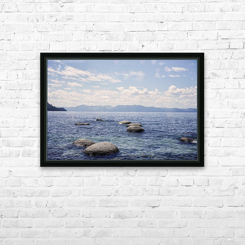 Out West 8 of 8 HD Sublimation Metal print with Decorating Float Frame (BOX)