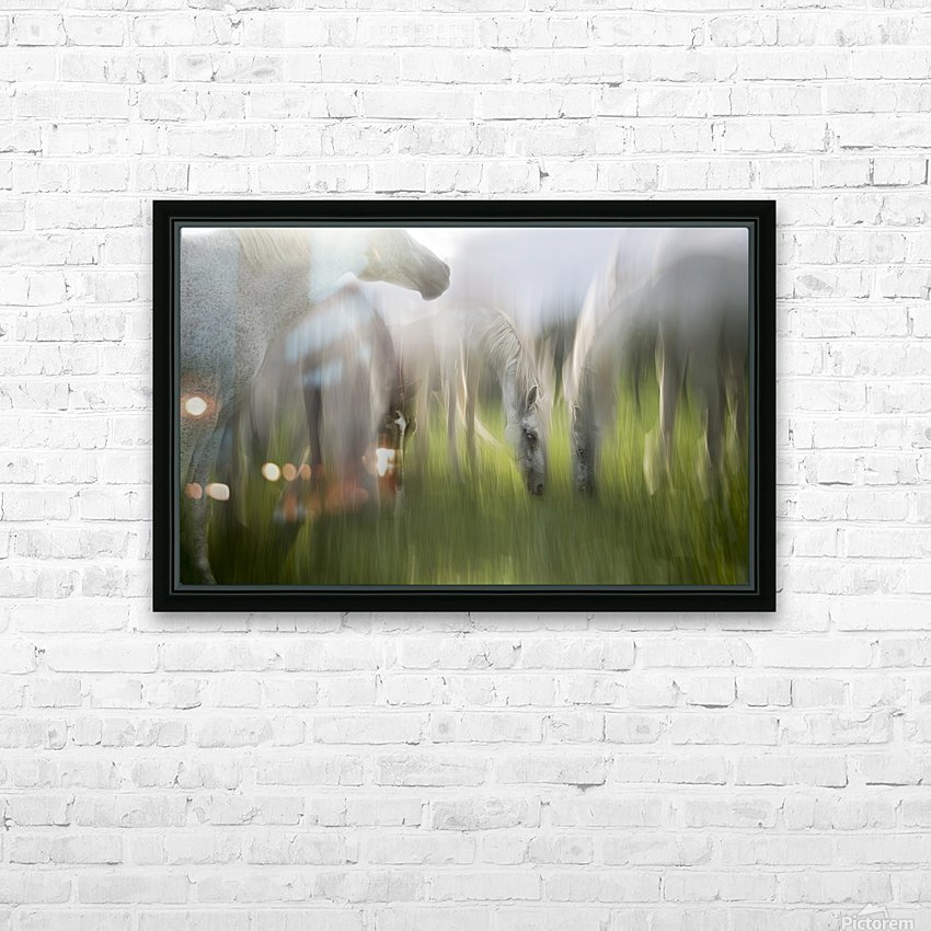 Impression by milan malovrh  HD Sublimation Metal print with Decorating Float Frame (BOX)