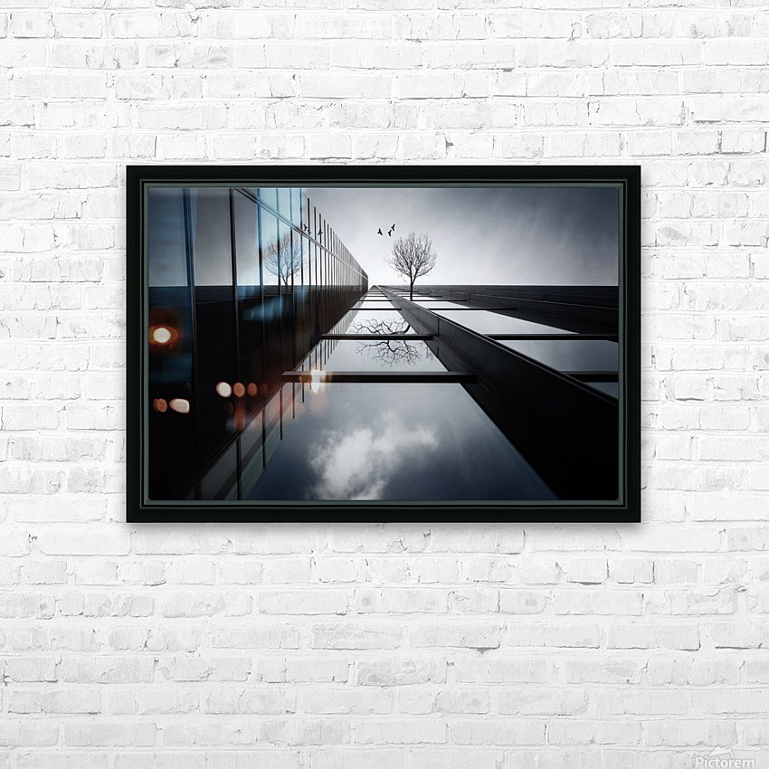The Ethereal Flying Garden HD Sublimation Metal print with Decorating Float Frame (BOX)