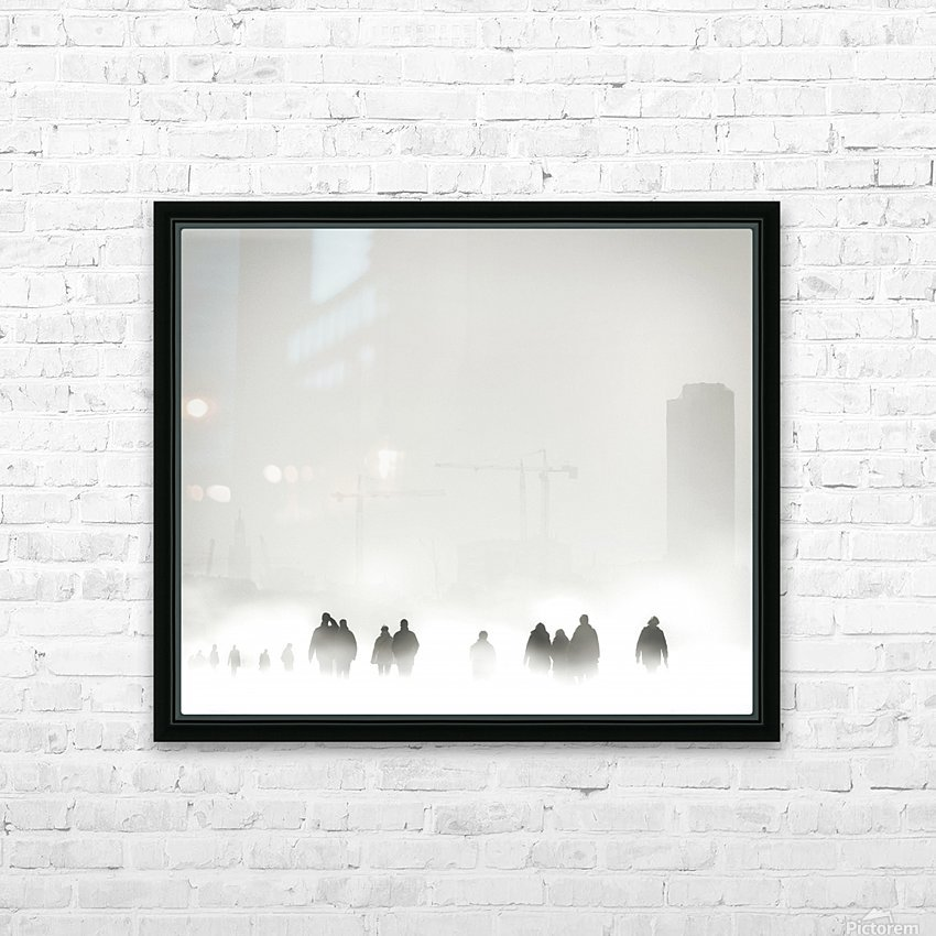 Atmosphere HD Sublimation Metal print with Decorating Float Frame (BOX)