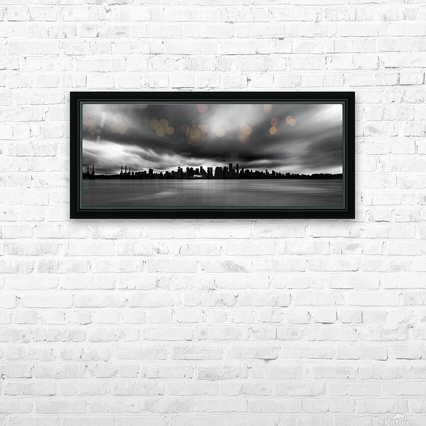 Vancouver HD Sublimation Metal print with Decorating Float Frame (BOX)