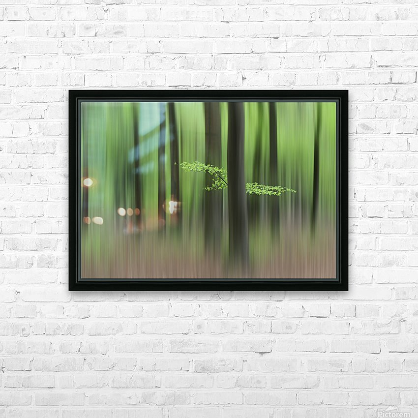 Spring Morning HD Sublimation Metal print with Decorating Float Frame (BOX)