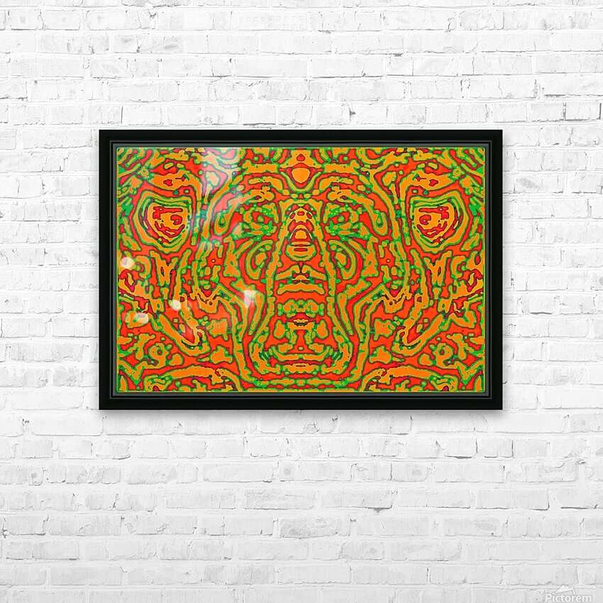 CAPRICIOUS AUDACITY I HD Sublimation Metal print with Decorating Float Frame (BOX)