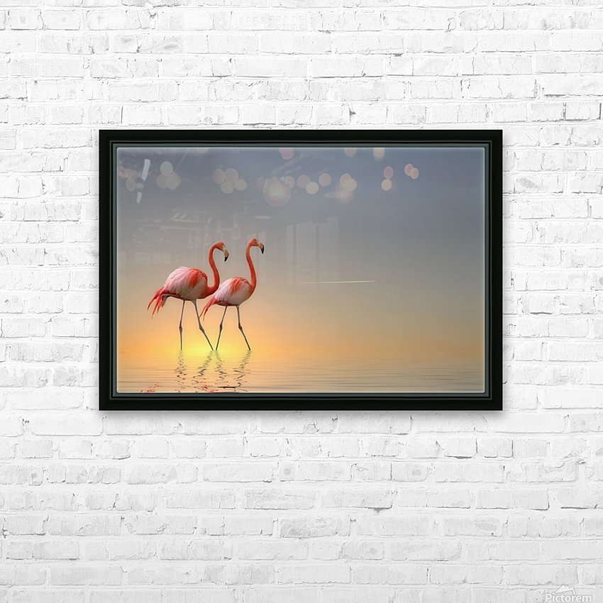 Serenity II HD Sublimation Metal print with Decorating Float Frame (BOX)