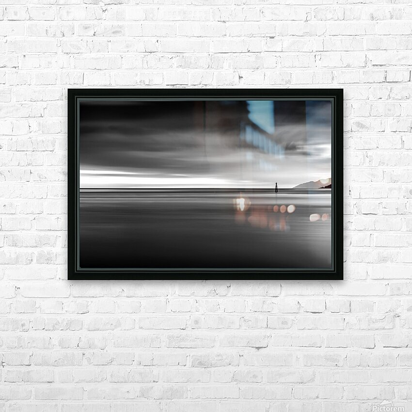 Calming Seas HD Sublimation Metal print with Decorating Float Frame (BOX)