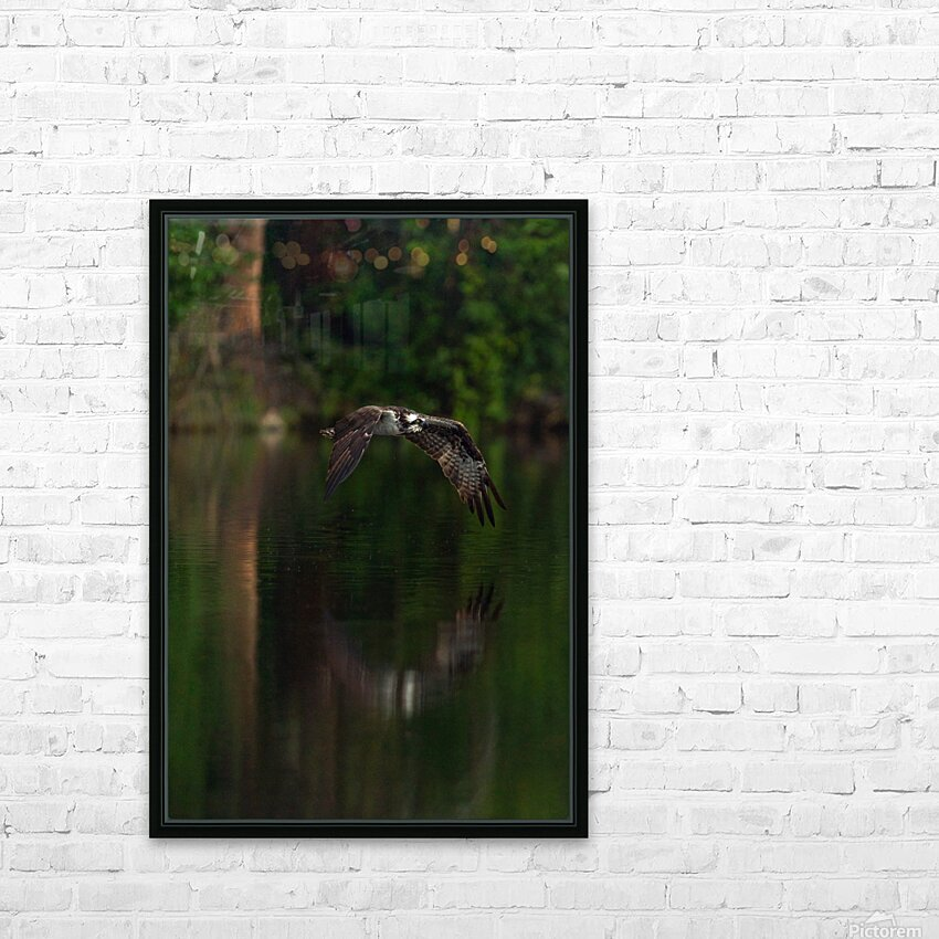 Wesley Allen Shaw 00747 HD Sublimation Metal print with Decorating Float Frame (BOX)