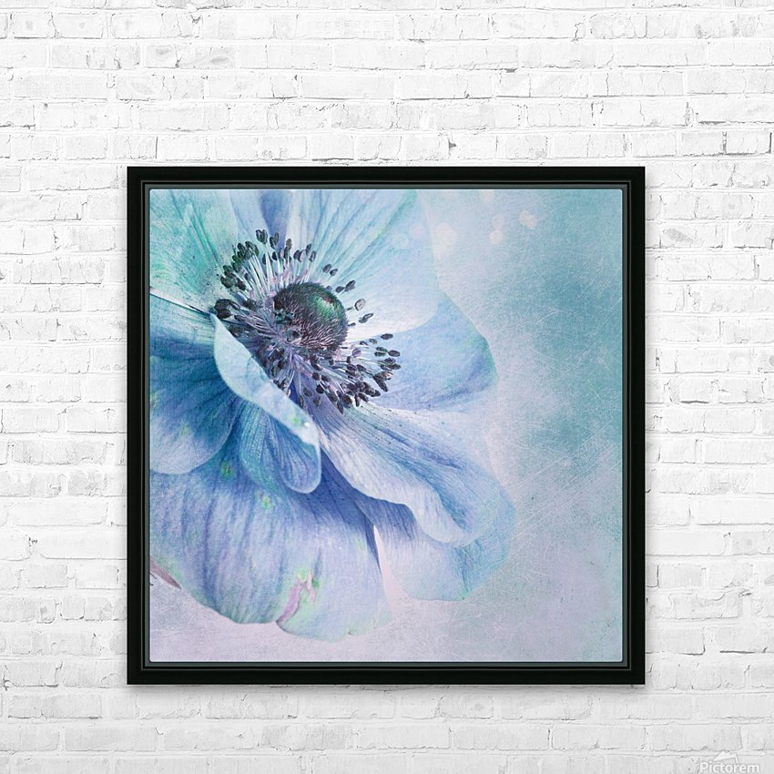 Shades of Blue by Priska Wettstein  HD Sublimation Metal print with Decorating Float Frame (BOX)