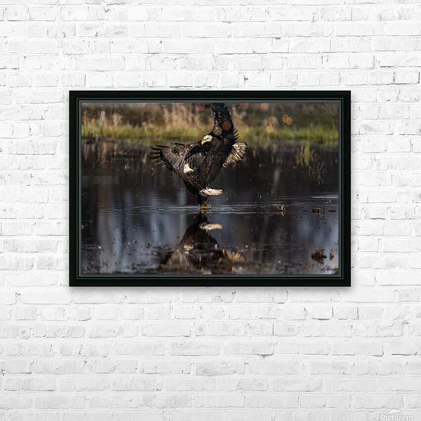 Wesley Allen Shaw 09085 HD Sublimation Metal print with Decorating Float Frame (BOX)