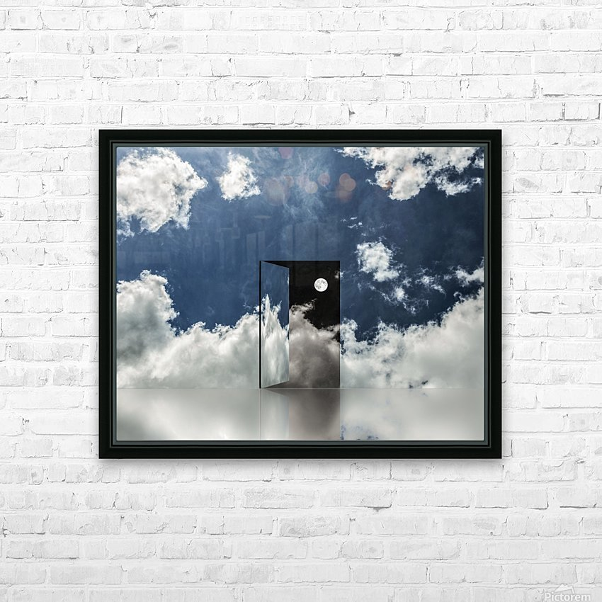 Event Horizon HD Sublimation Metal print with Decorating Float Frame (BOX)