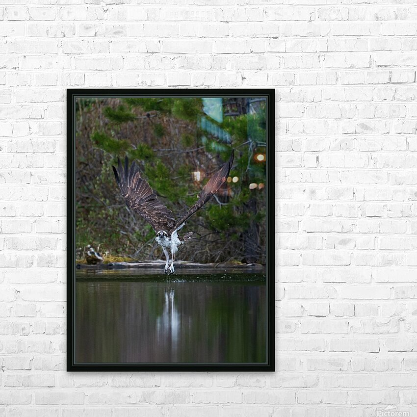 Wesley Allen Shaw 07518 HD Sublimation Metal print with Decorating Float Frame (BOX)