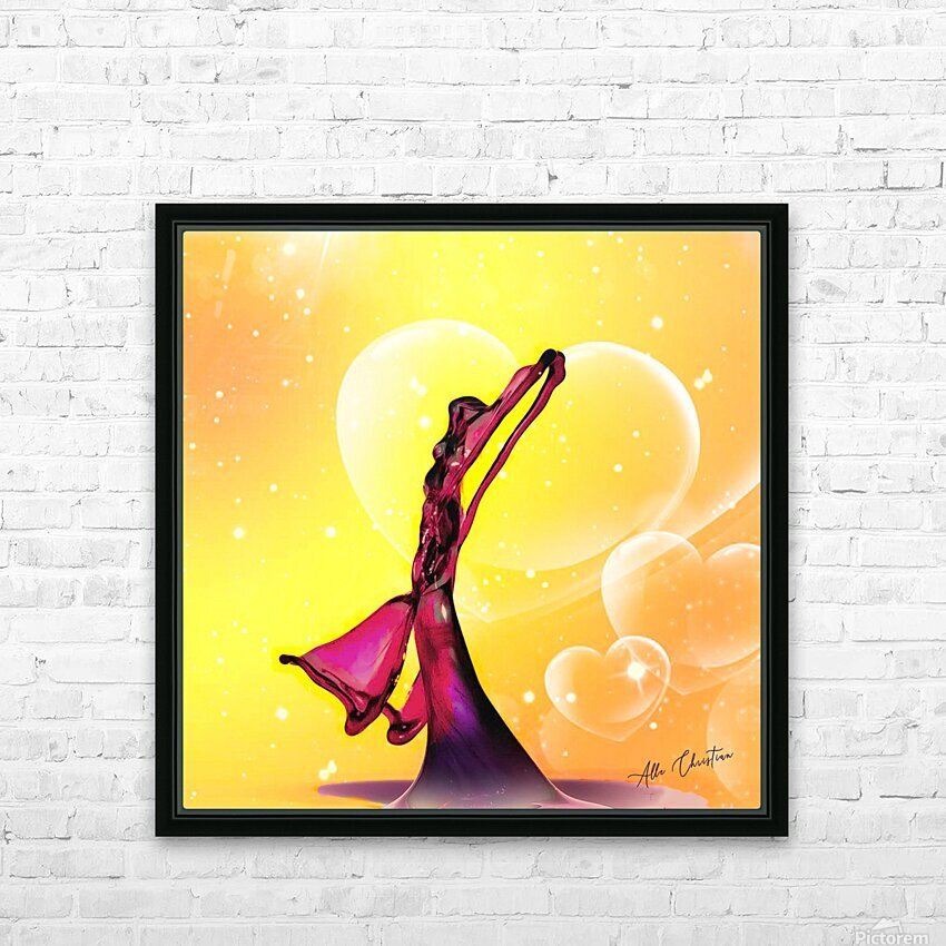MG 1588 HD Sublimation Metal print with Decorating Float Frame (BOX)