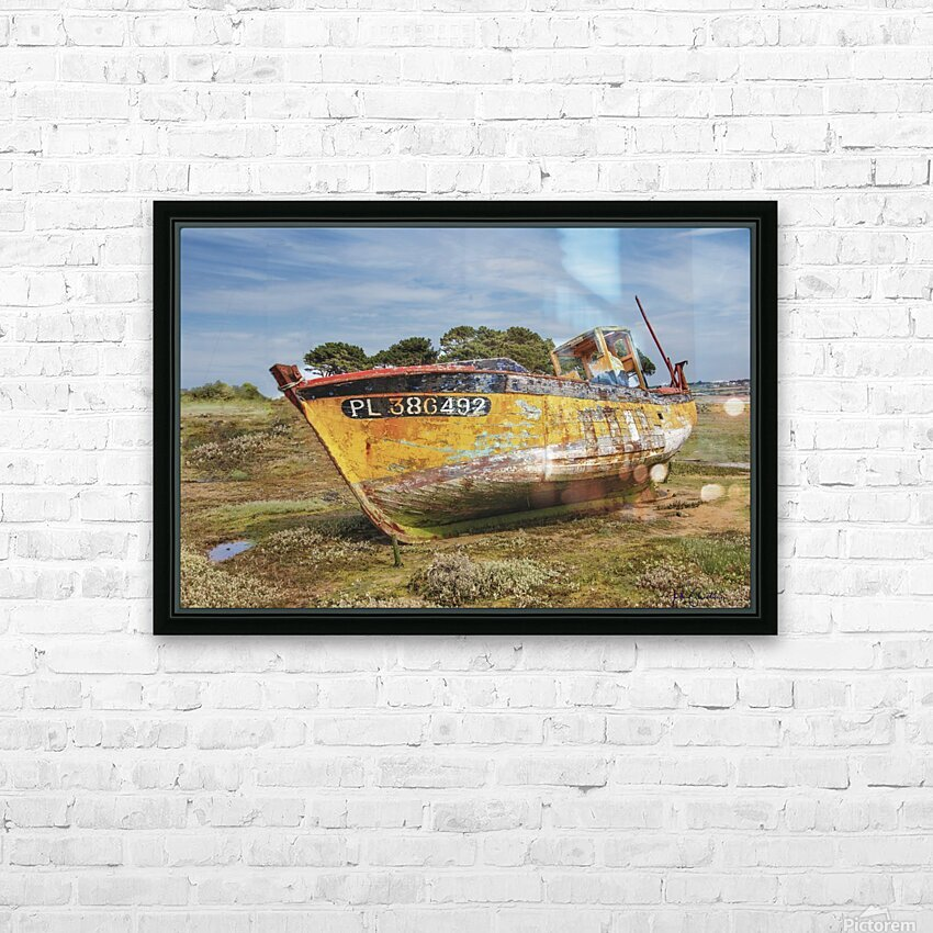 MG 0034 HD Sublimation Metal print with Decorating Float Frame (BOX)