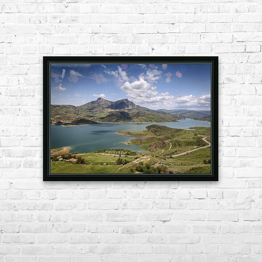 MG 6494 HD Sublimation Metal print with Decorating Float Frame (BOX)