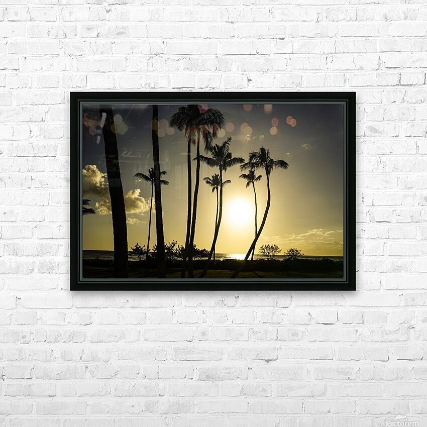 Clear Day HD Sublimation Metal print with Decorating Float Frame (BOX)