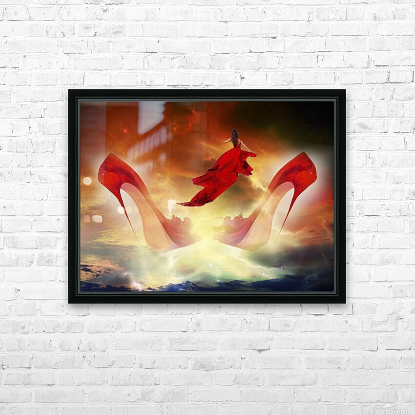 Je menvole HD Sublimation Metal print with Decorating Float Frame (BOX)