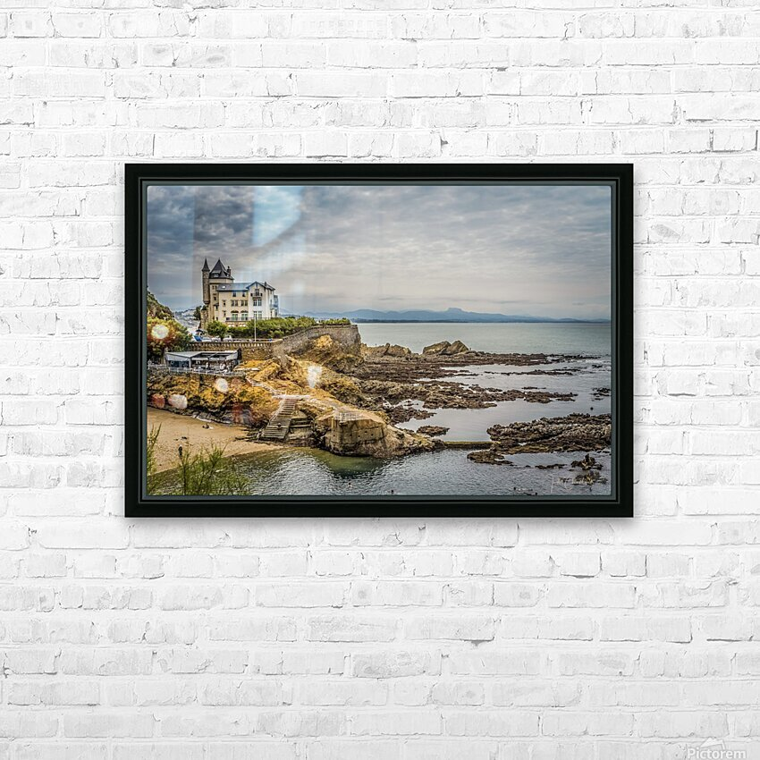 Biarritz HD Sublimation Metal print with Decorating Float Frame (BOX)