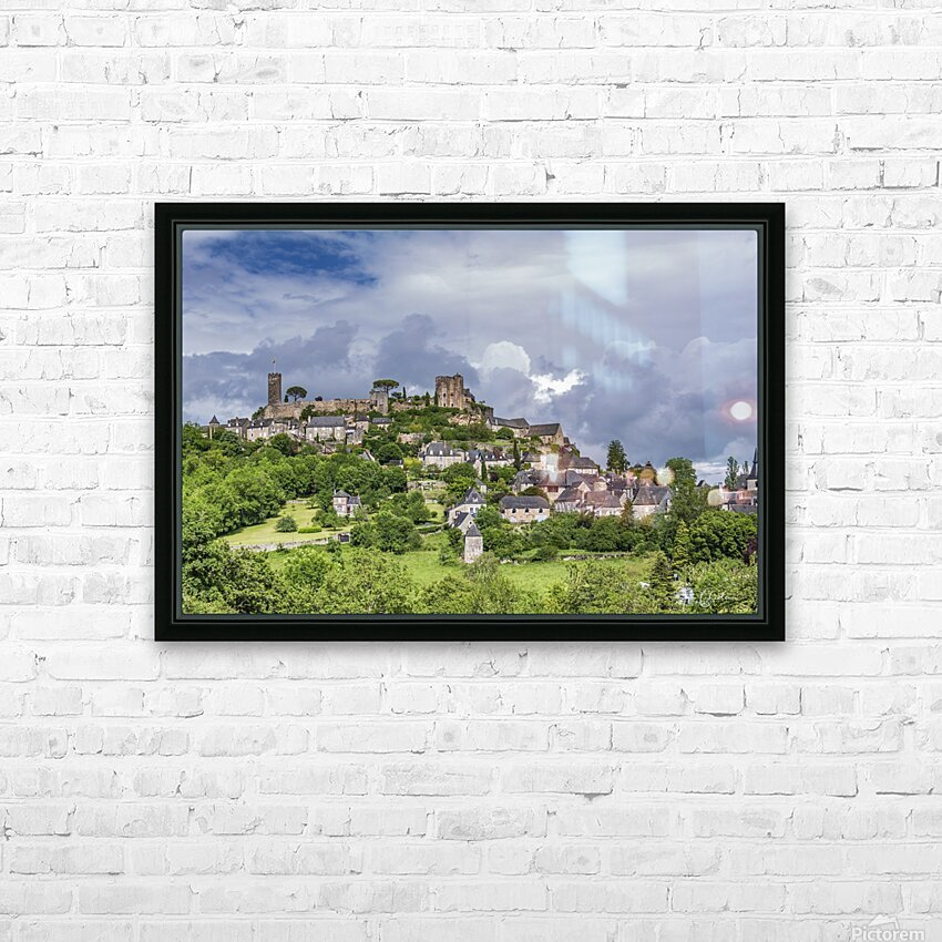Turenne HD Sublimation Metal print with Decorating Float Frame (BOX)