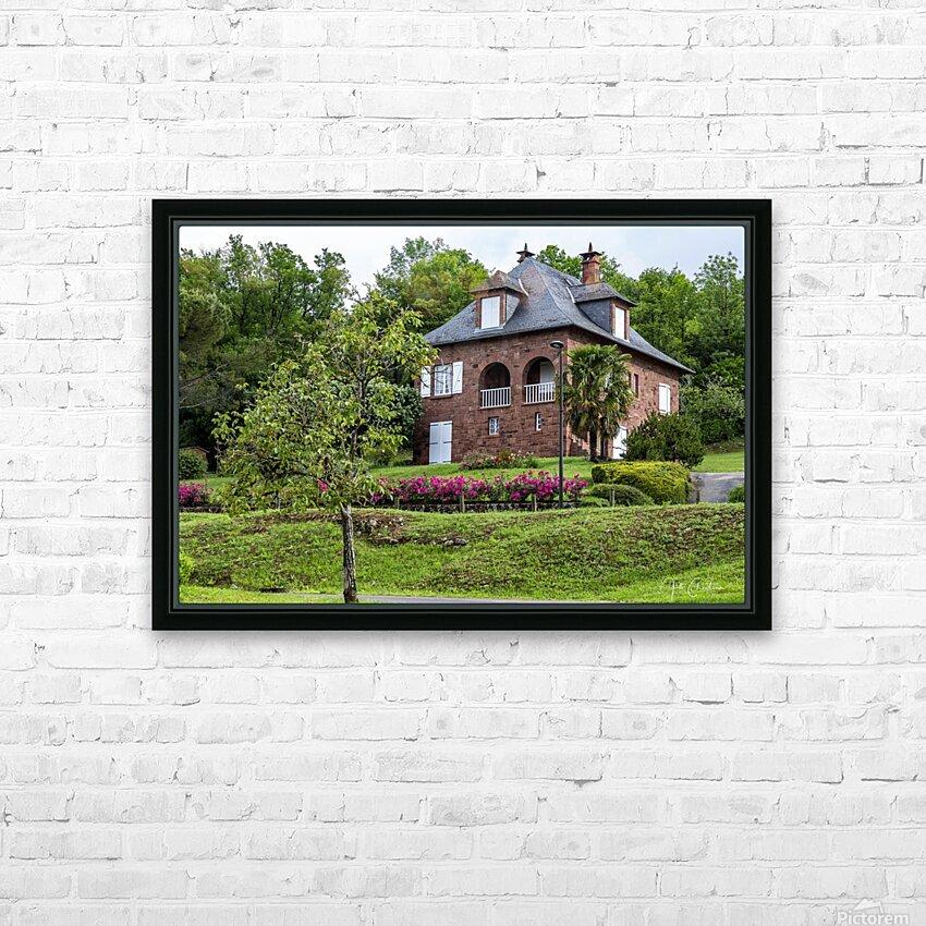 Collonge la rouge HD Sublimation Metal print with Decorating Float Frame (BOX)