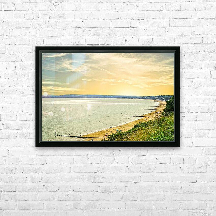 Coastal England HD Sublimation Metal print with Decorating Float Frame (BOX)