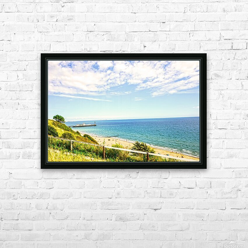 The Southern Coast of England HD Sublimation Metal print with Decorating Float Frame (BOX)