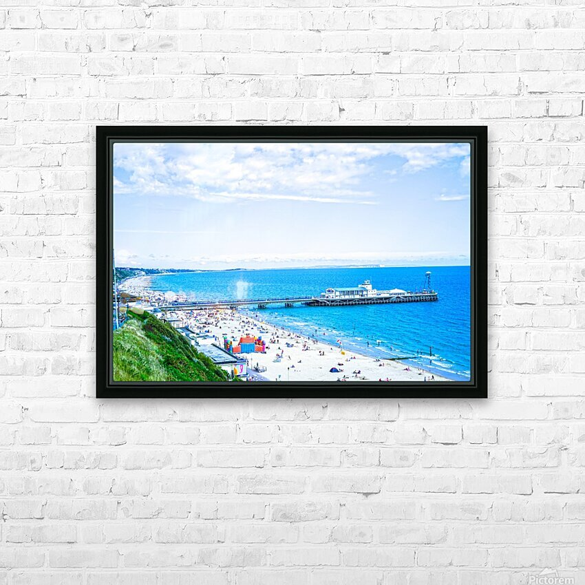 Snaphot in Time Bournemouth HD Sublimation Metal print with Decorating Float Frame (BOX)