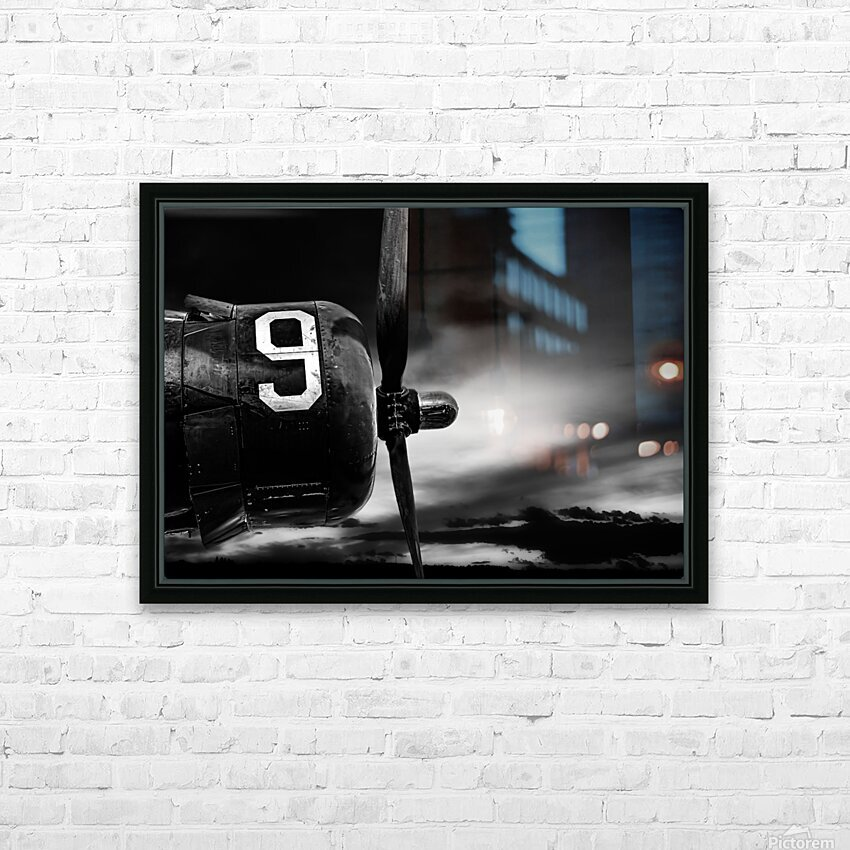 Number 9 Consolidated B24 HD Sublimation Metal print with Decorating Float Frame (BOX)