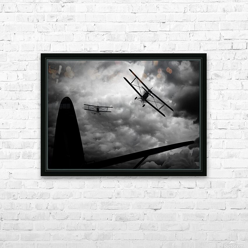 Air Pursuit  HD Sublimation Metal print with Decorating Float Frame (BOX)