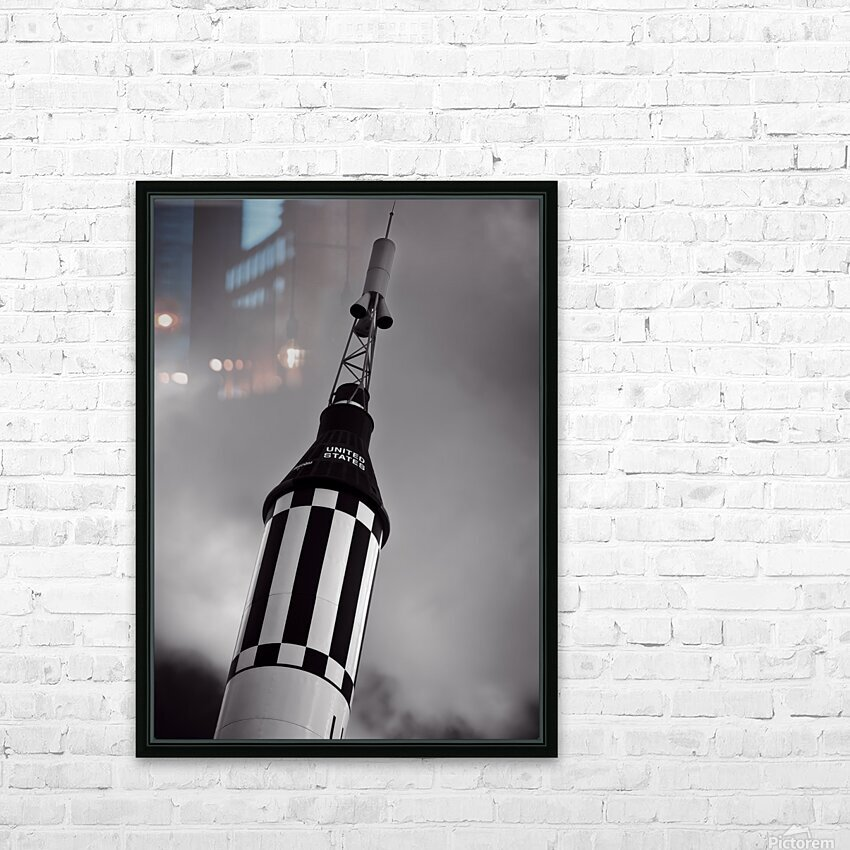 Mercury Seven HD Sublimation Metal print with Decorating Float Frame (BOX)