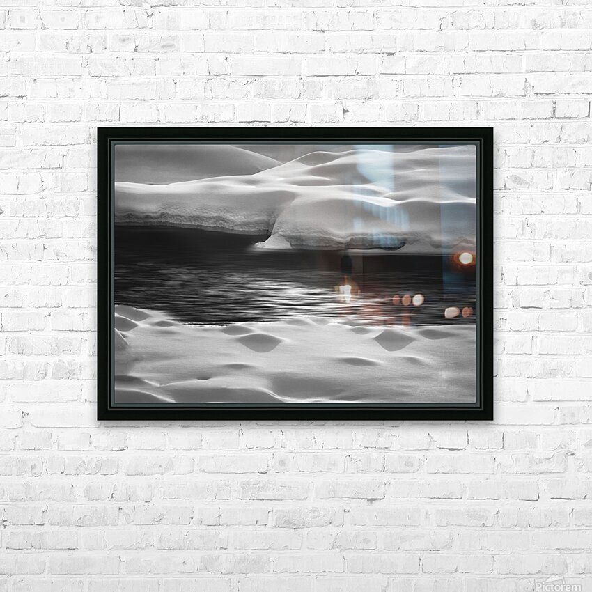 Between Here And There HD Sublimation Metal print with Decorating Float Frame (BOX)